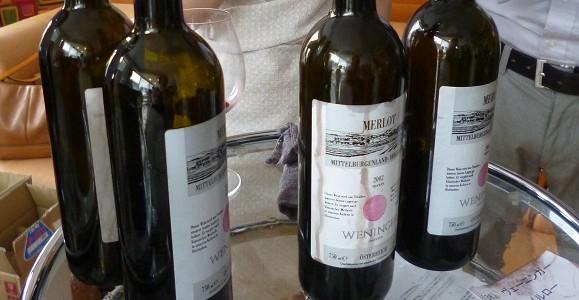 オーストリア熟成ワイン試飲会